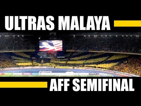Ultras Malaya - UM07 - AMAZING Display - Choreo - AFF Semifinals vs. Thailand