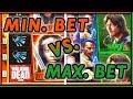 👹 Walking Dead ➡ MIN vs MAX Bet 💰 ✦ Who WINS more? ✦ Slot Fruit Machine Pokies w Brian Christopher