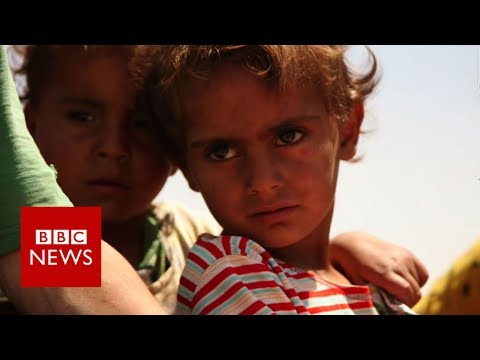 EXCLUSIVE : Inside Islamic State 'capital' Raqqa - BBC News