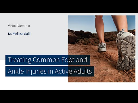 Treating Common Foot and Ankle Injuries in Active Adults with Dr. Melissa Galli | The CORE Institute