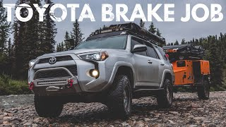 Toyota Brakes Complete How-To (SAVE HUNDRED$) 4Runner, Tacoma, and more