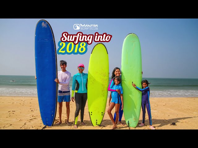 Surfing into 2018 at Mantra Surf Club