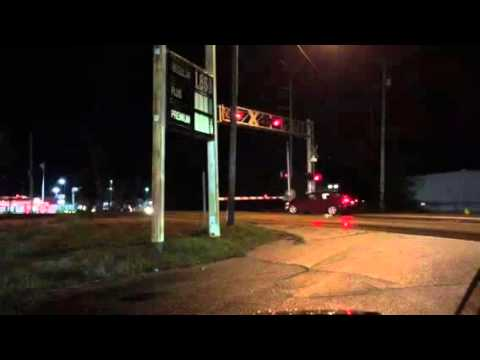 2 CSX engines during gas station stop Pascagoula MS