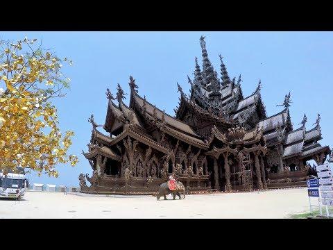 Sanctuary of Truth Pattaya Tour (4K)
