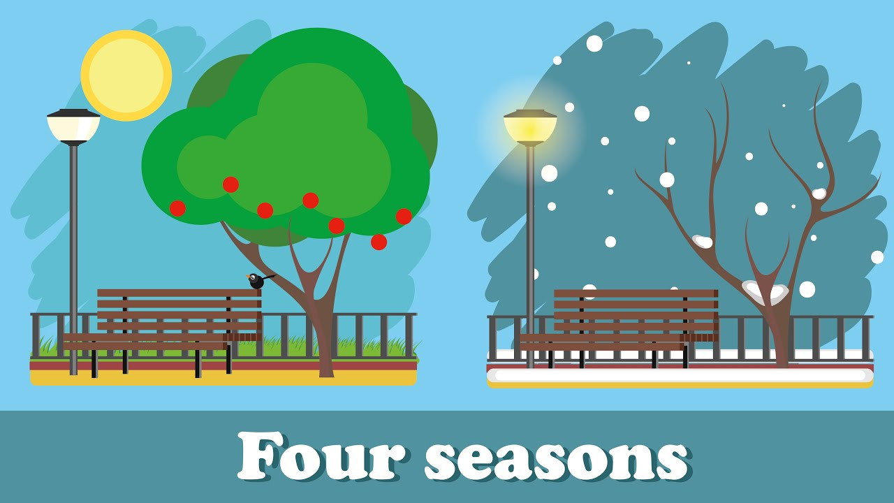 Learning Seasons For Kids Four Seasons Of The Year