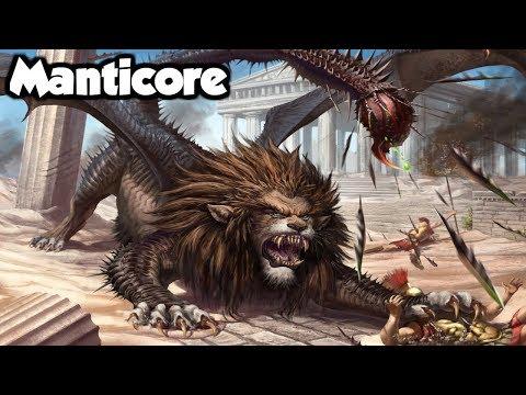 Manticore - The Maneater of Persian Mythology - (Persian Mythology Explained)