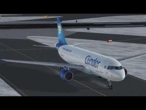 Flight from Copenhagen  to Munich (Condor)