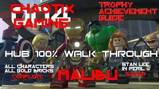 LEGO MARVEL's Avengers - Malibu 100% Collectibles Complete Trophy/Achievement Guide