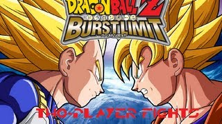 DragonBall Z: Burst Limit (PS3): Vegeta vs Goku