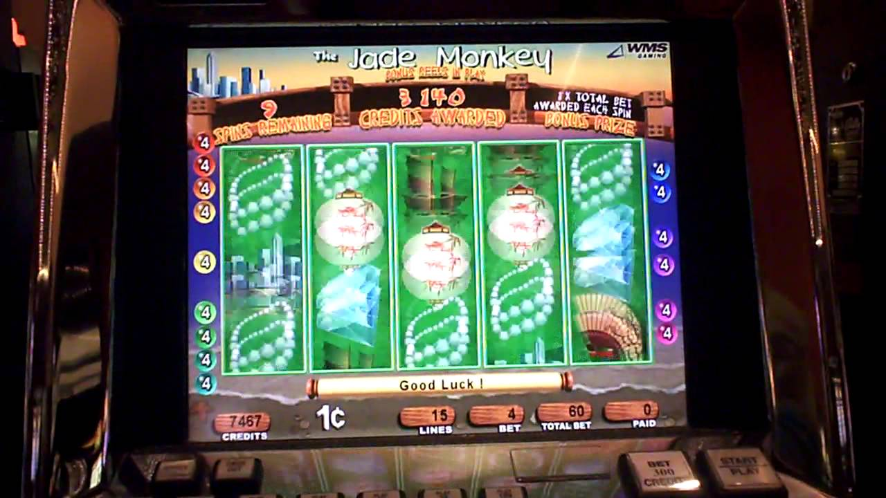 The Jade Monkey Slot Machine Bonus Youtube