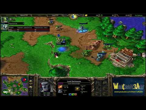 120(UD) vs Fly(ORC) - WarCraft 3 Frozen Throne - RN3263