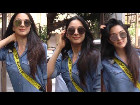 Kiara Advani LOOKS STUNNING in Sunglasses Spotted at Dubbing Studio