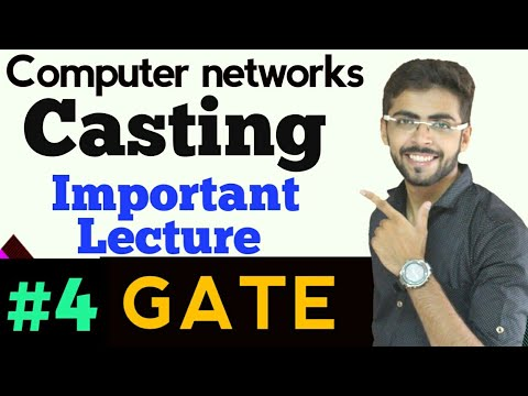 Unicasting | Limited Broadcast | Directed Broadcast | Gate Computer Networks Lectures in Hindi #04