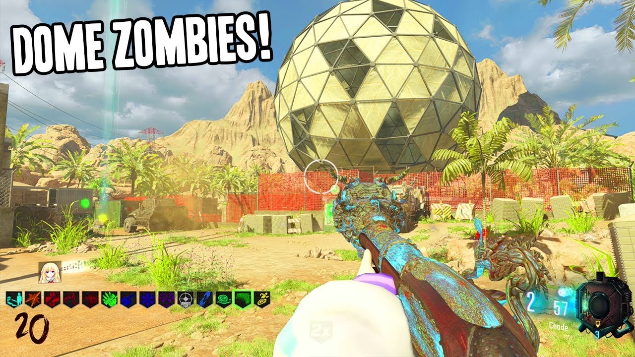 DOME CUSTOM ZOMBIES MIT OSTEREI-JAGD! + video