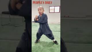 young #Kungfu master from central China's Henan