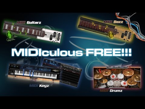 MIDIculous Learning Software for Musicians