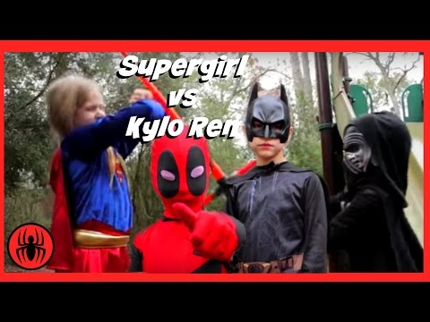 little-supergirl-vs-kylo-ren-in-real-life,-batman-&-deadpool-on-the-case- -fun-superhero-kids-movie
