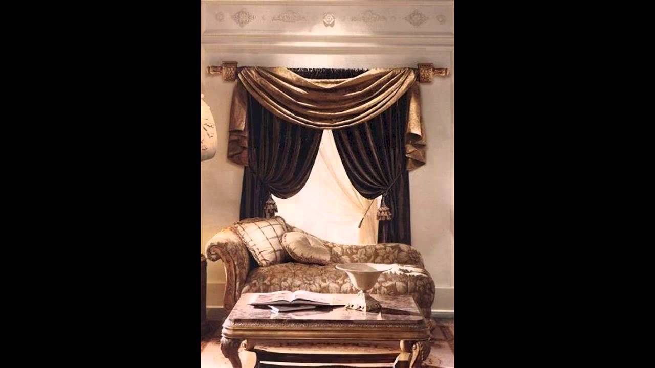 creative living room curtain design ideas youtube - Drapery Design Ideas
