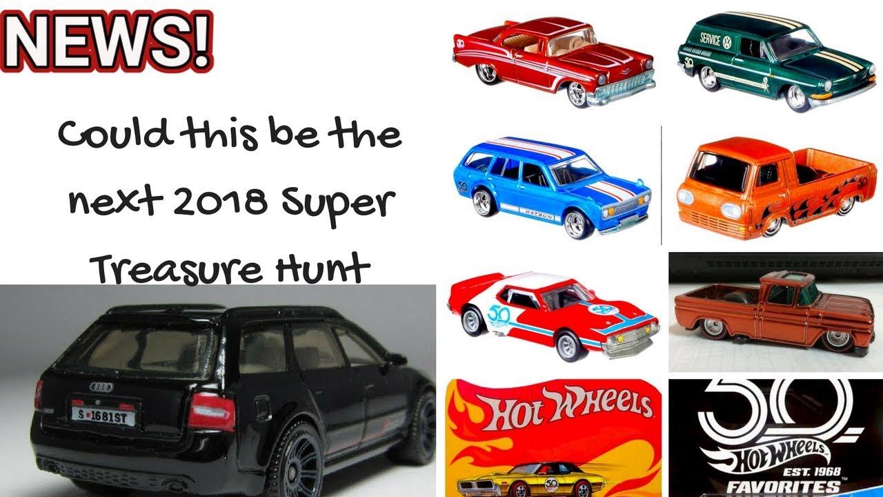 New 2018 Super Treasure Hunt? plus Hot Wheels Collectors ...