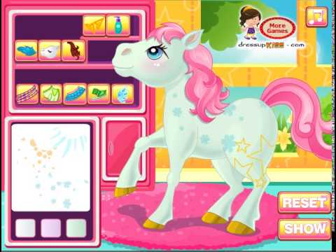Friv 8 Play Baby Pony Salon Game Online Friv 3 Juegos Kizi 2