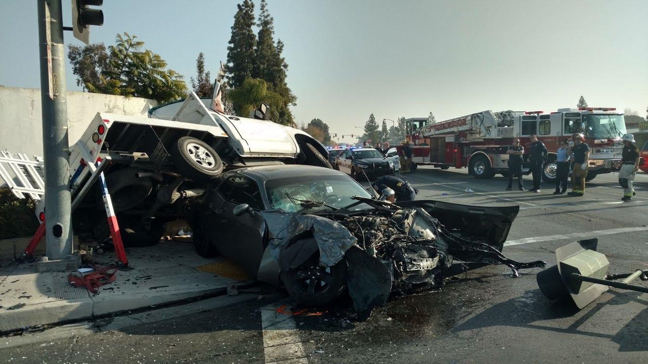 Аварии на дорогах #13