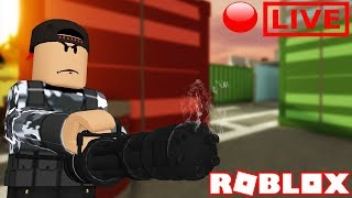 Roblox Arsenal Live Stream - NOOB TO PRO GAMEPLAY