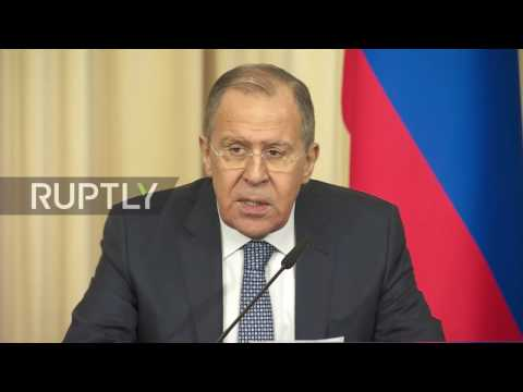 Russia: Lavrov urges US not to take 'unilateral actions' against North Korea