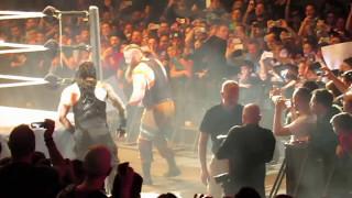 Roman Reigns vs Braun Strowman WWE Rome Live 03/05/2017 #WWE#USA#entertainment#superstars#smackdown