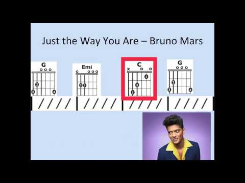 Just the Way You Are - Moving chord chart