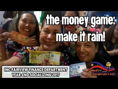The Money Game: Make It Rain! - INC Fairview Finance Department Yearend Socializing 2017