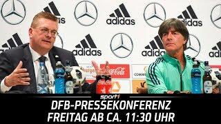 ReLIVE 🔴   DFB-Pressekonferenz   15.06.   WM 2018   SPORT1