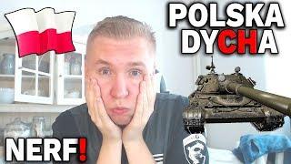 POLSKA DYCHA W WOT - NERF !!!
