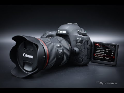 Review Canon EOS 6D Mark II مراجعة