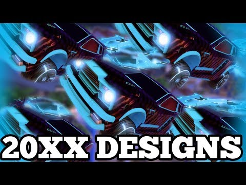 TOP 10 20XX DESIGNS OF ALL TIME!! (Rocket League Car Designs)