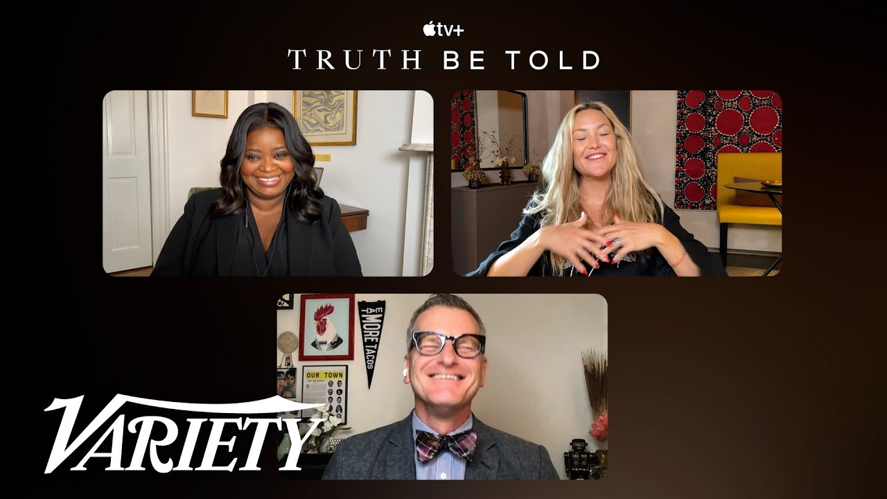 Download Octavia Spencer and Kate Hudson Talk 'Truth Be Told' Season 2