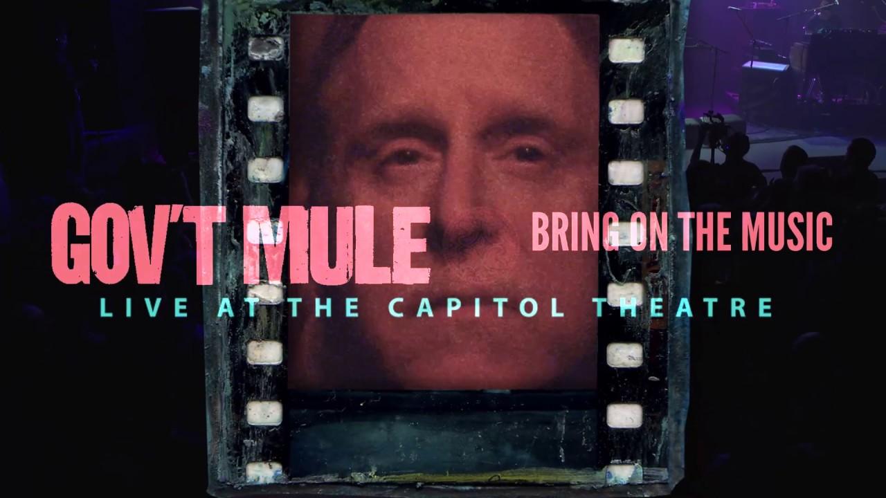 Gov't Mule Announce Live Album & Film 'Bring On The Music