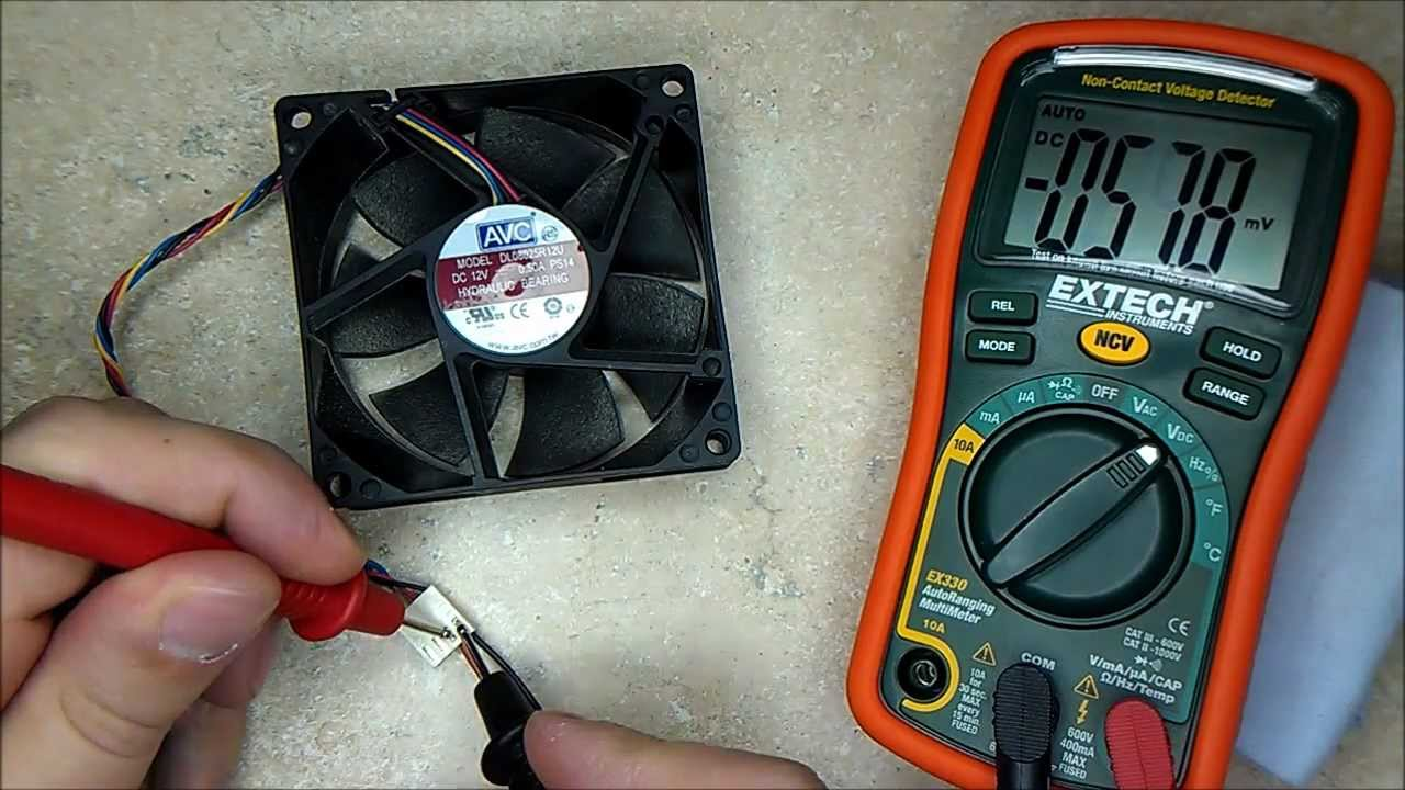 Wiring Diagram For Blower Motor Resistor Circuit Of Home Theater How To Test A Faulty? Computer Fan. - Youtube