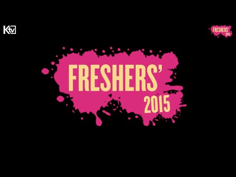 Freshers 2015 | Tuesday 22nd September