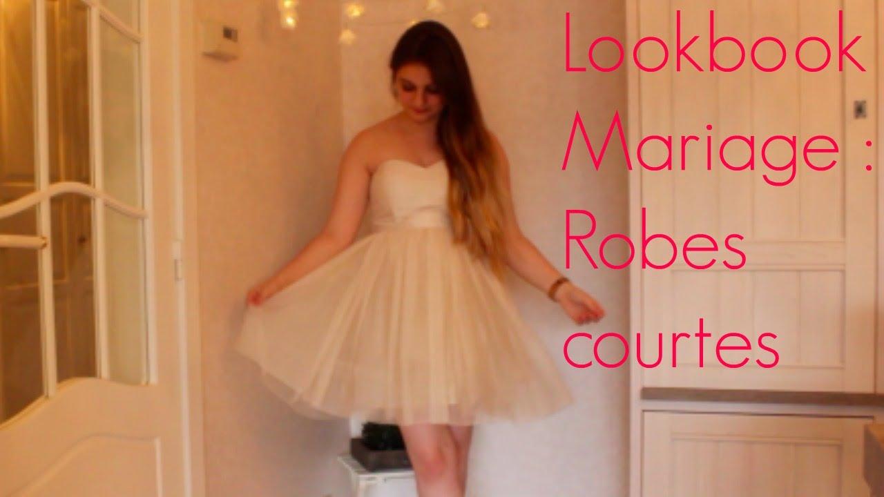 Lookbook mariage bal de fin d 39 ann e robes courtes for Don de robe de mariage militaire