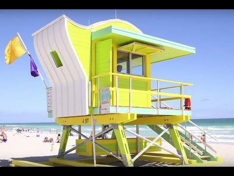 Miami Beach Lifeguard Towers - Iconic Past; Visionary Future