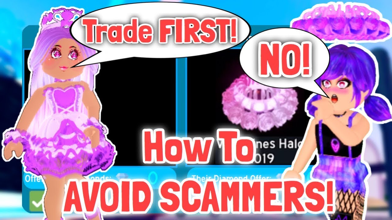 How To Avoid Getting Scammed Royale High Trading Tips Youtube
