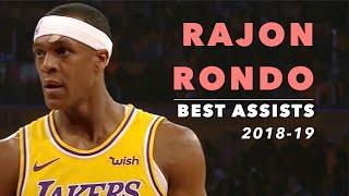 Rajon Rondo Best Assists | 2018-19 | Los Angeles Lakers
