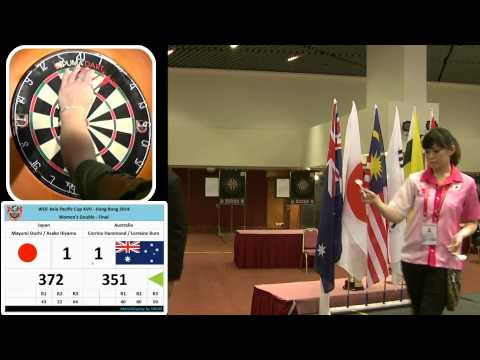 WDF Asia Pacific Cup XVII ~ Hong Kong 2014 Women's Doubles Final Match