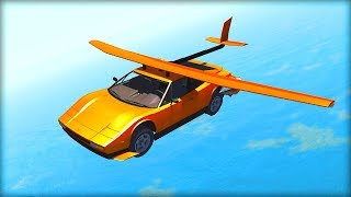 WE CAN FLY!!! BeamNG Drive Funny Moments!