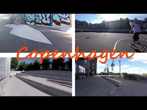 Skatespots in Copenhagen