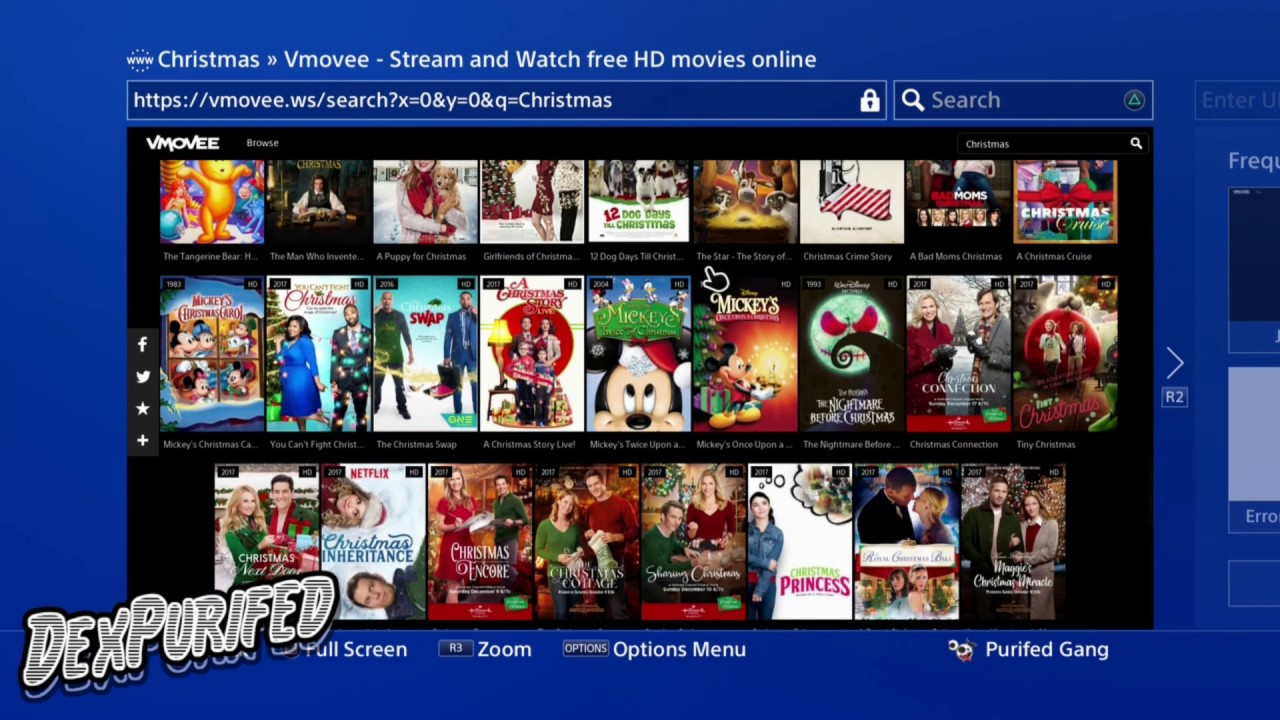 Whats a good movie website for ps4 | Top 10 Free Movie