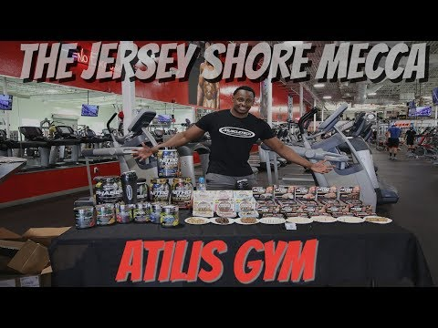 TRAINING AT THE JERSEY SHORE MECCA GYM | MUSCLETECH DEMO AT ATILIS GYM
