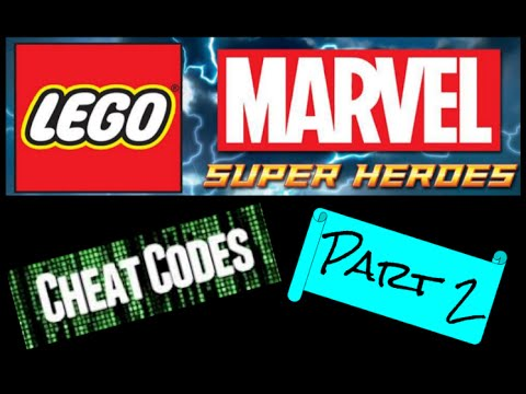 LEGO Marvel Super Heroes CHEAT CODES!!!!! Part 2 - YouTube