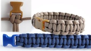 How to Make a Basic Cobra Paracord Survival Bracelet