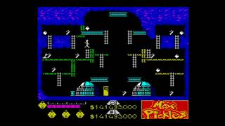 Max Pickles Part II: The Mine of Doom (2018) Walkthrough, ZX Spectrum
